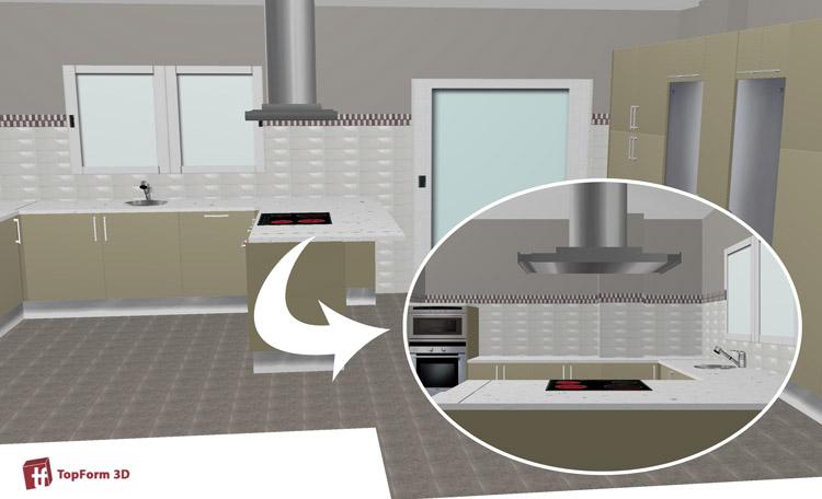 Dise o y planificaci n de cocinas muebles rogelio gurrea - Planificador de cocinas ...