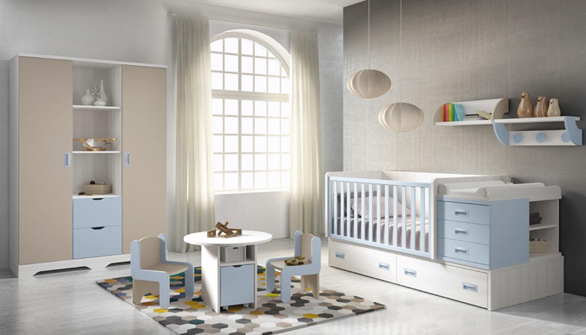 Bonito Bebé Redondo Muebles Camas Motivo - Muebles Para Ideas de ...