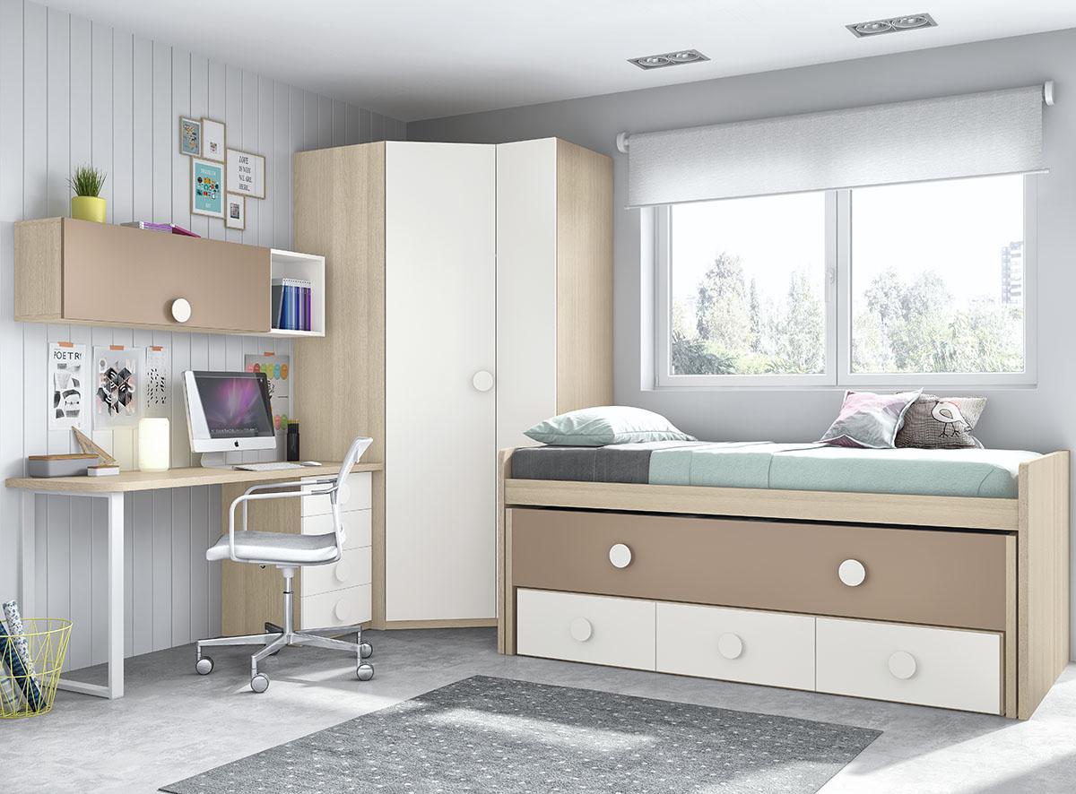 Dormitorios juveniles muebles rogelio gurrea for Muebles juveniles albacete