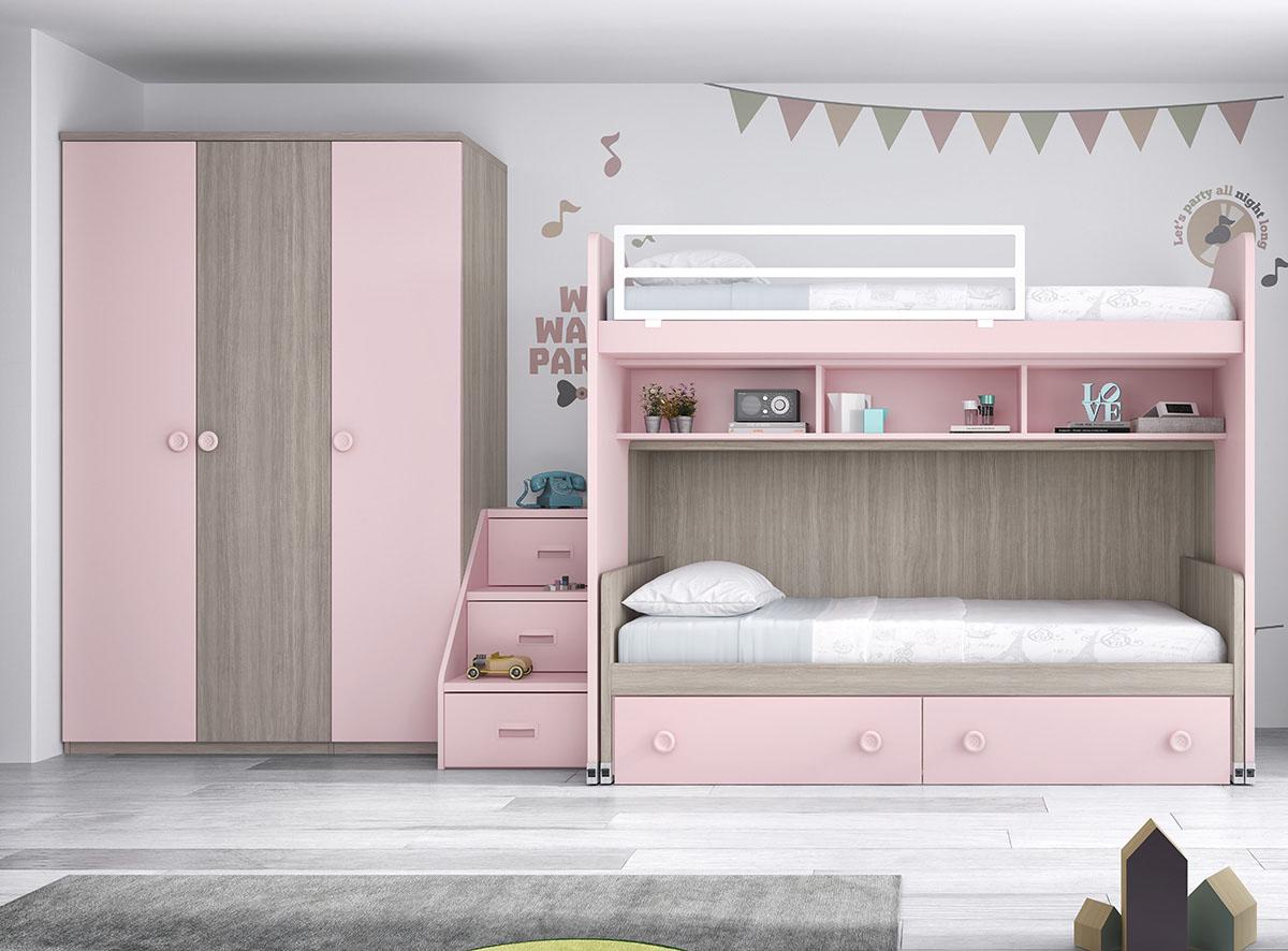 Dormitorios juveniles muebles rogelio gurrea - Muebles literas abatibles ...