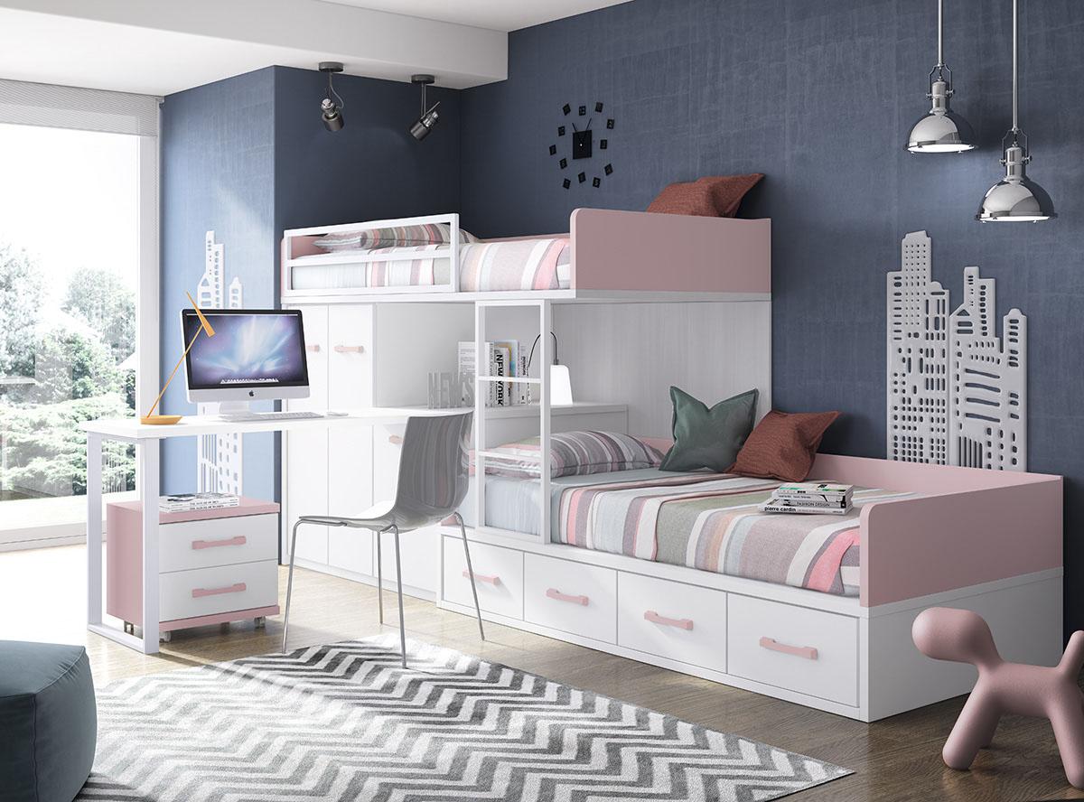 Dormitorios juveniles muebles rogelio gurrea for Dormitorios infantiles baratos