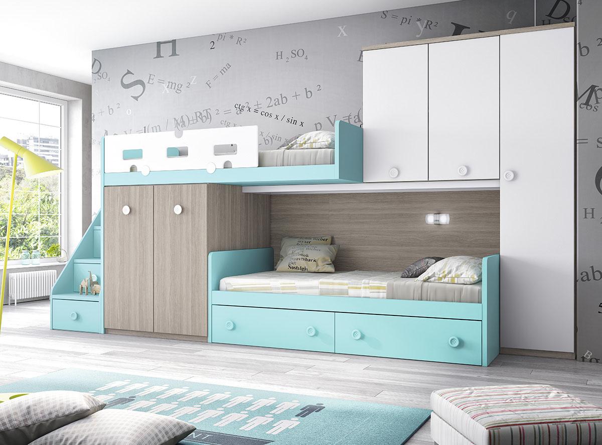 Dormitorios juveniles muebles rogelio gurrea for Muebles infantiles y juveniles en mendoza